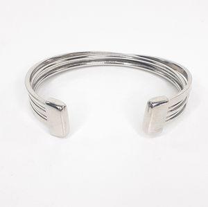 Lia Sophia Bracelet Silver Cinch Cuff